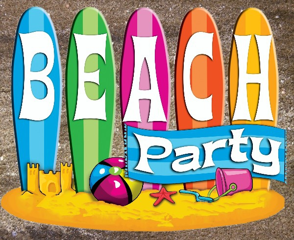 School Disco Beach Theme